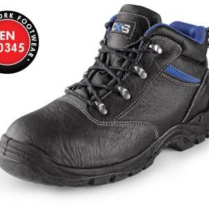 Kotníková obuv s ocelovovu špicí DOG BOXER S1 3756185c5b