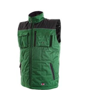Pánská zimní vesta SEATLE, zeleno-černá