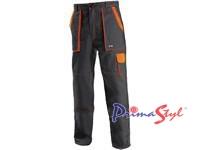 Pánské kalhoty CXS LUX JOSEF, černo-oranžové