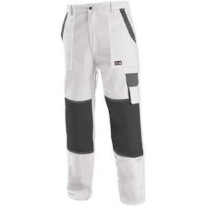 Pánské kalhoty CXS LUX JOSEF, bílo-šedé