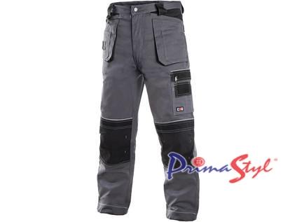 Pánské kalhoty ORION TEODOR, šedo-černé