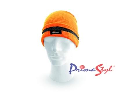 Reflexní čepice KEADY, oranžová