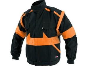 Pánská blůza CXS LUX EDA, černo-oranžová