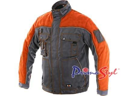 Pánská blůza ORION OTAKAR, šedo-oranžová