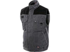 Pánská vesta ORION MAREK, šedo-černá