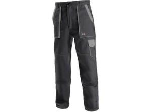 Pánské kalhoty CXS LUX JOSEF, černo-šedé