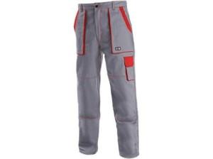 Pánské kalhoty CXS LUX JOSEF, šedo-červené