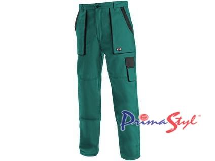 Pánské kalhoty CXS LUX JOSEF, zeleno-černé