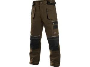 Pánské kalhoty ORION TEODOR, hnědo-černé