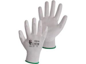 Povrstvené rukavice BRITA, bílé