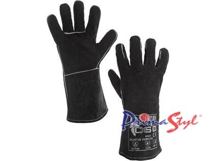 Svářecí rukavice PATON, černé